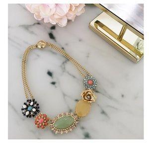 Vintage style pastel necklace